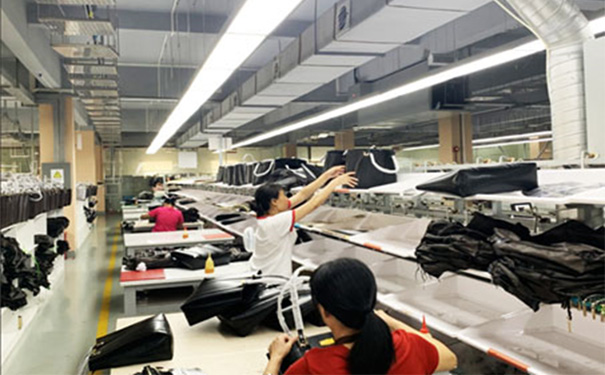 <b>Automatic Production Line in Leather Goods Factory</b>